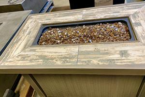 "56"" Commercial Grade Concrete Fire Table"